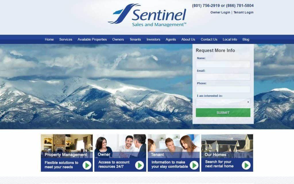 real estate responsive web design