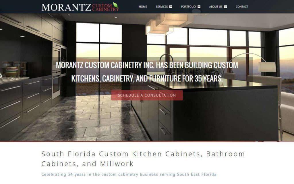 contractor website designs