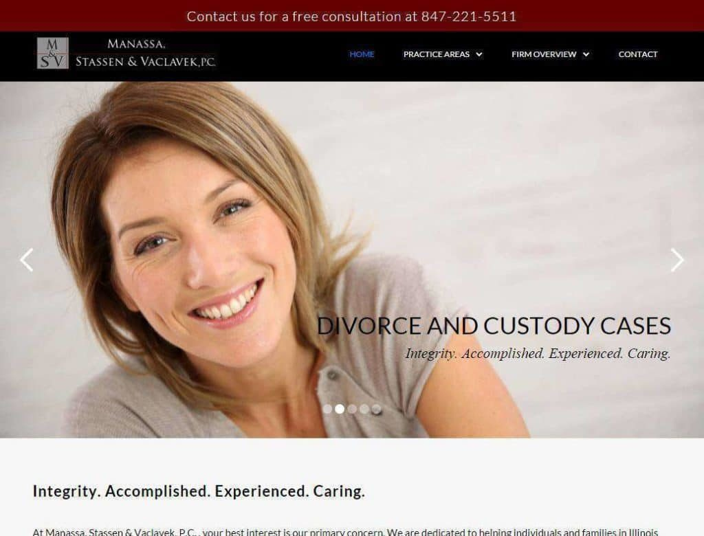 divorce lawyer website designs