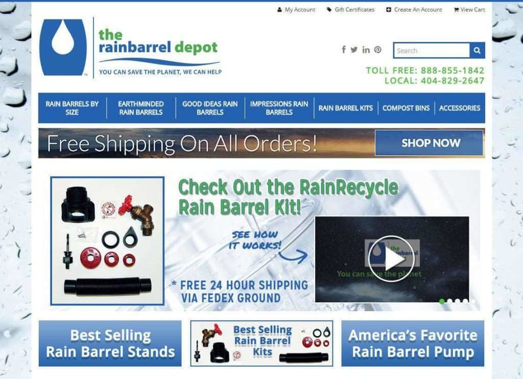 Rain Barrel Kits, FL